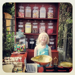 kid in a sweetshop