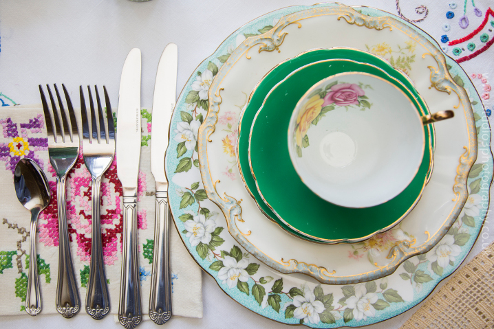 Emily's Best Vintage China Hire