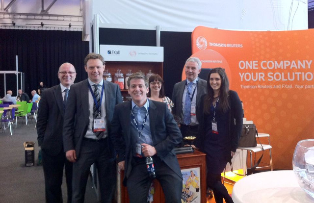 Reuters team at our stand
